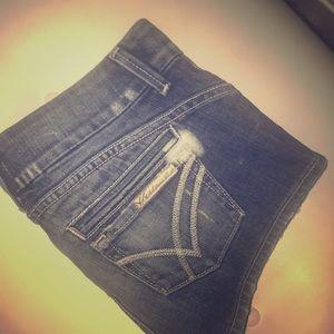 Pants - William Rast distressed jeans shorts RARE